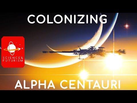 Outward Bound: Colonizing Alpha Centauri