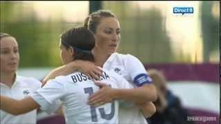 France - Russie (3-0) : Résumé des buts (Equipe de France Féminine de Football)