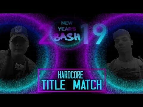 Tbw New Year S Bash 2019 Event Backyard Wrestling Youtube