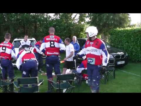 Moto-Ball -  Coupe de  France M B C Houlgate / SUMA Troyes ( 1 - 3)