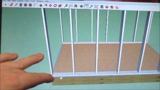 How To Draw A Shed In Sketchup Part 2