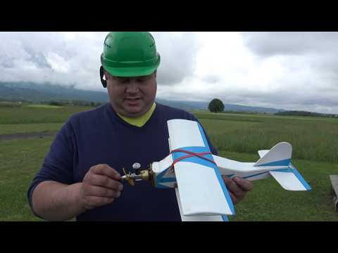 Zaunkönig 400mm Biplane With Cox .049 Glow Engine Flight Review