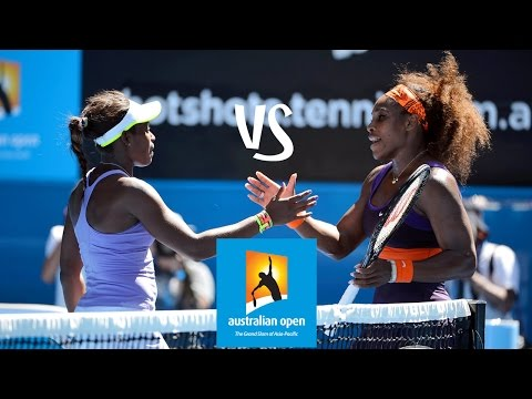 Stephens vs Williams | 2013 Australian Open Highlights