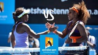 Stephens vs Williams | 2013 Australian Open Highlights