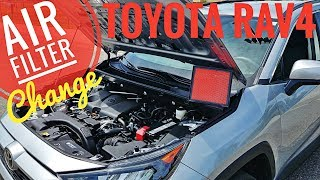 2019 - 2020 Toyota Rav4 Air Filter Replacement