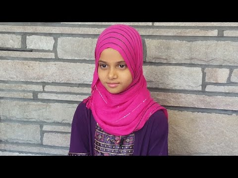 Maryam Is Reciting Surah Al-Masad