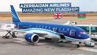 TRIPREPORT   Azerbaijan Airlines (ECONOMY)   Boeing 787-8   London Heathrow - Baku