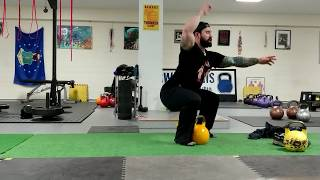 The Deep Seated Snatch : Advanced Kettlebell Snatch Exercise