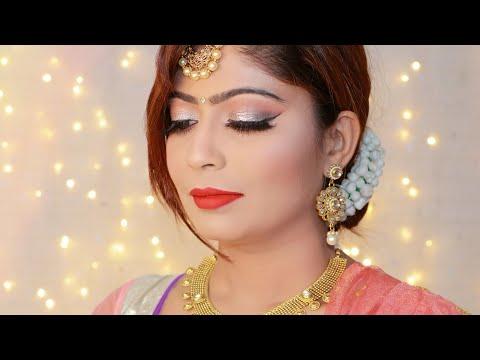 gold-indian-wedding-guest-makeup-tutorial-|-rinkal-soni
