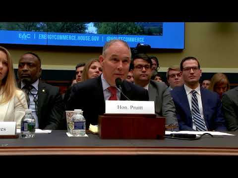 Cramer Questions Administrator Pruitt During Committee Hearing