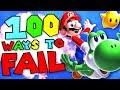 100 Ways To Fail In Super Mario Galaxy 2