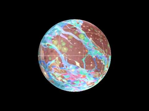 Nasa Maps Ganymede, The Largest Moon In The Solar System