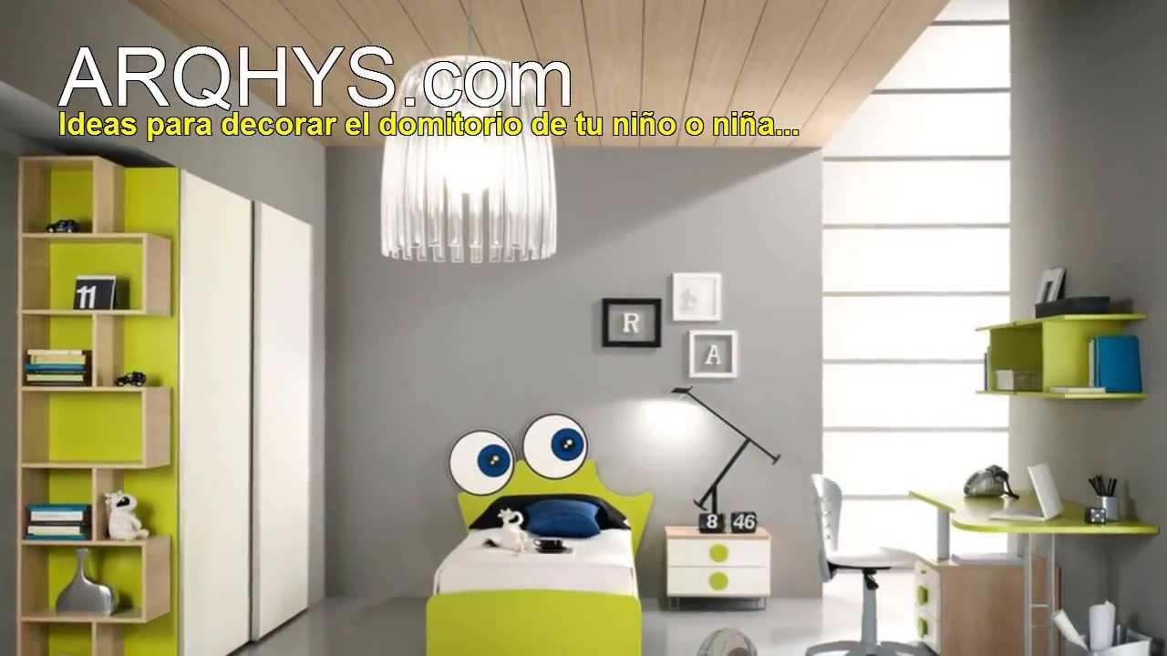 dormitorios infantiles y juveniles para nios y nias ideas para decorar youtube