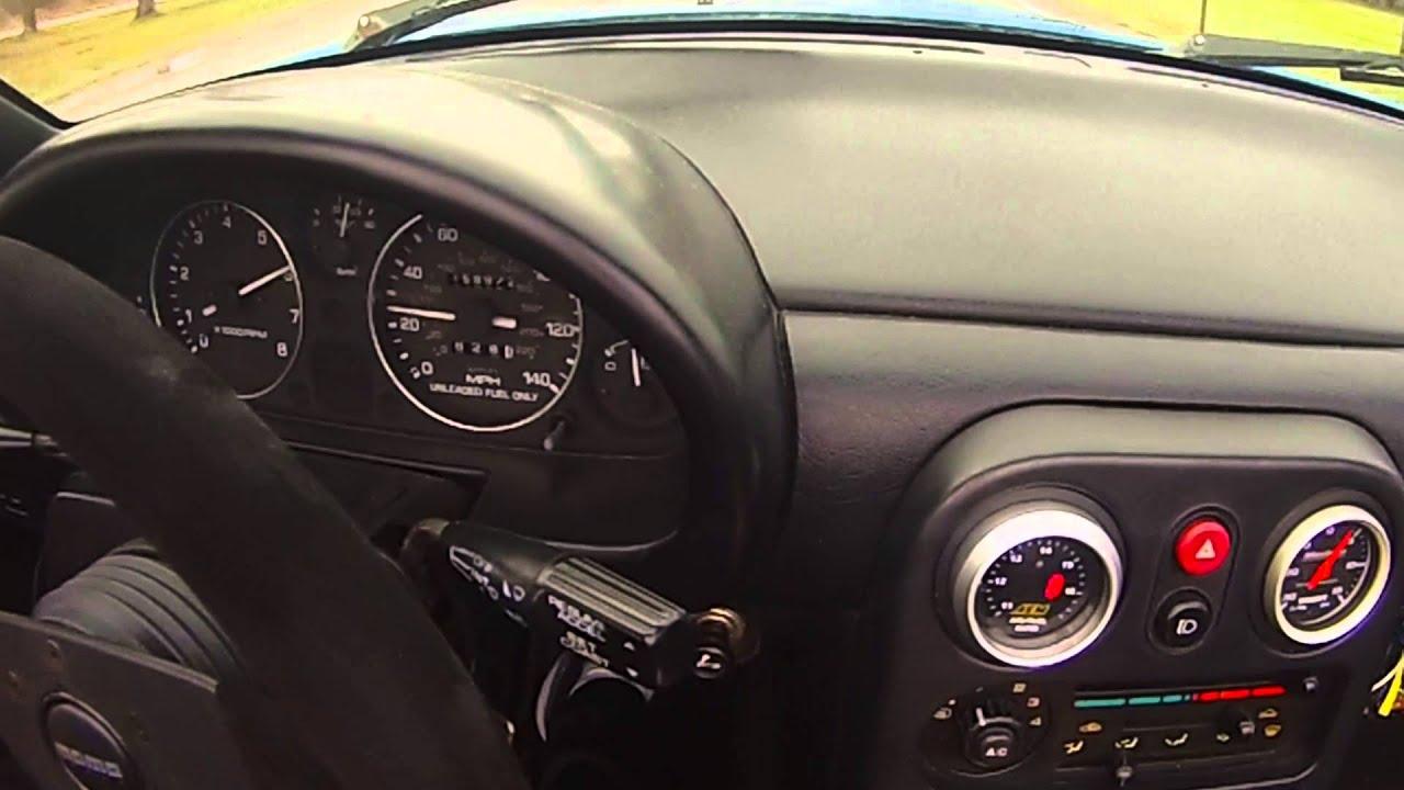 1993 MX 5 Miata Turbo 0 60 35F Crappy Tires