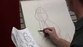 Constructing A Cartoon Character With Peter Emslie  (Part 1 Of 2)