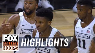 Providence vs Brown | Highlights | FOX COLLEGE HOOPS