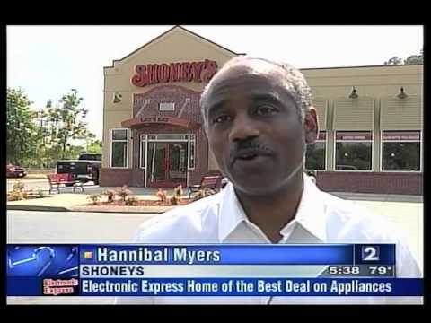 Shoney's Bellevue Grand Reopening - Channel 2 on July 8, 2010