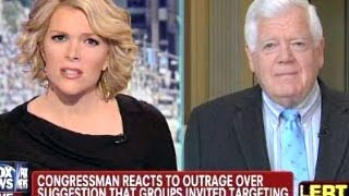 Megyn Kelly Battles Rep Jim McDermott Over IRS