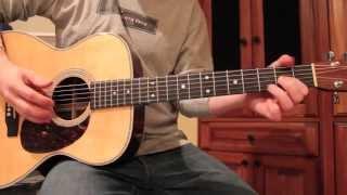John Mayer - Hotel Bathroom Song - LESSON