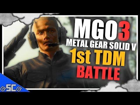 MGO3 | My 1st Bounty Hunter (TDM) Match | METAL GEAR ONLINE 3