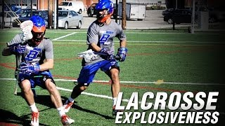 Lacrosse Question Mark Drill | Lacrosse Agility Drills