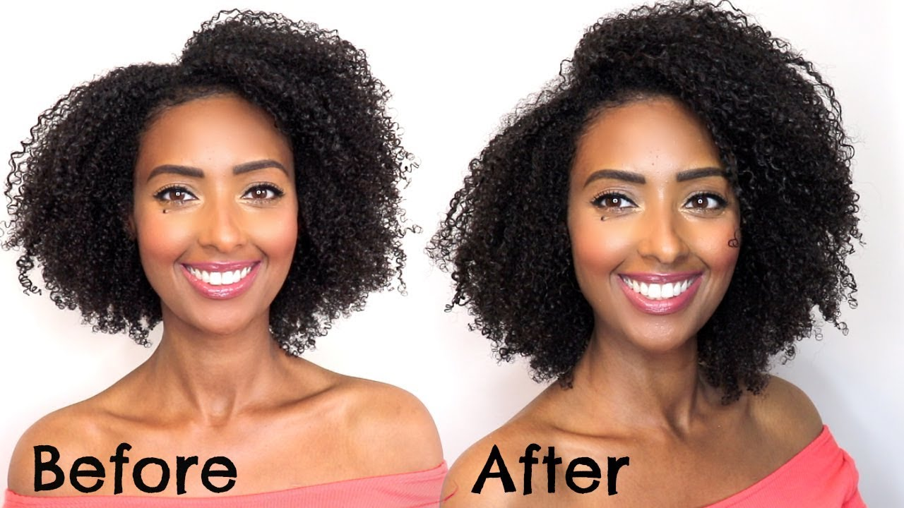How To Stretch Natural Hair Fast In 30 Mins Best Way To Reduce