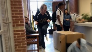 We Have a Package For You Prank (Jump Scaring My Teachers!)