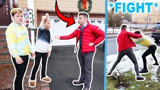 Mom Confronts My Girlfriends Ex Boyfriend! *bad idea*