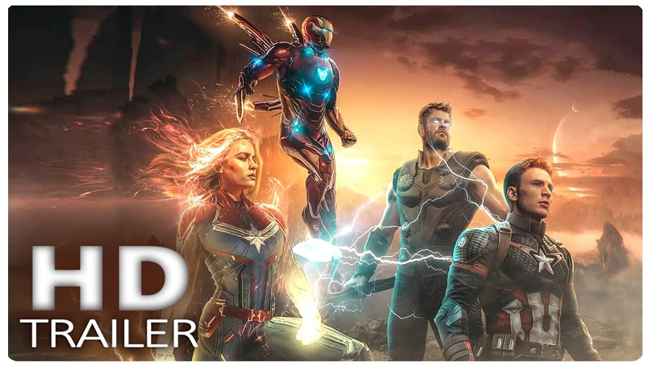 13b6a75a8a190 AVENGERS 4 ENDGAME Going After Thanos Trailer (2019) Marvel