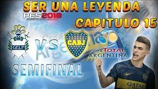 "SEMIFINAL DE COPA ARGENTINA!!   PES 2018 ""SER UNA LEYENDA #15"