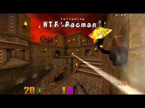 Quake III Arena duel, semisek vs pacman - game 5 |