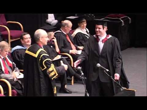 Sheffield Hallam University graduation November 2007