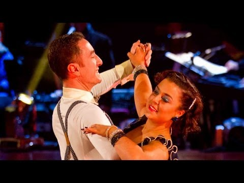 Dani Harmer CharlestonsQuicksteps to 'Happy Feet'  Strictly Come Dancing 2012  Week 10  BBC One