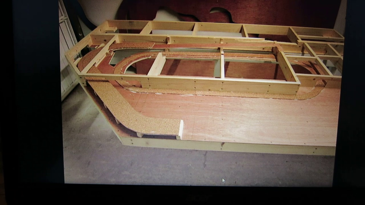 construction structure amovible repliable reseau modelisme ferroviaire echelle n youtube. Black Bedroom Furniture Sets. Home Design Ideas