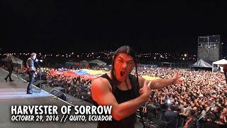 Metallica: harvester of sorrow (metontour - quito, ecuador - 2016)