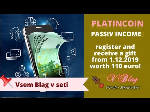 Platincoin  Register And Receive A Gift From  Worth 110 Euro! платинкоин