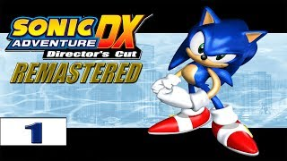 Sonic Adventure DX Remastered (FHD/+60FPS) прохождение - часть 1