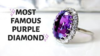 Most Famous Purple Diamonds In History