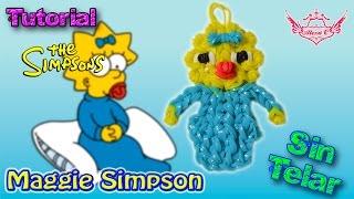 ♥ Tutorial: Maggie Simpson de gomitas (sin telar) ♥