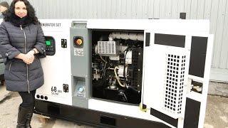 видео Генератор бензиновый 15 квт