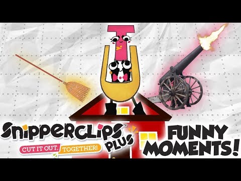 TESTICLE UNIVERSITY: GRAD SCHOOL - Snipperclips DLC Funny Moments!