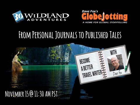 Travel Writing Basics: From Personal Travel Journals to Published Travel Tales