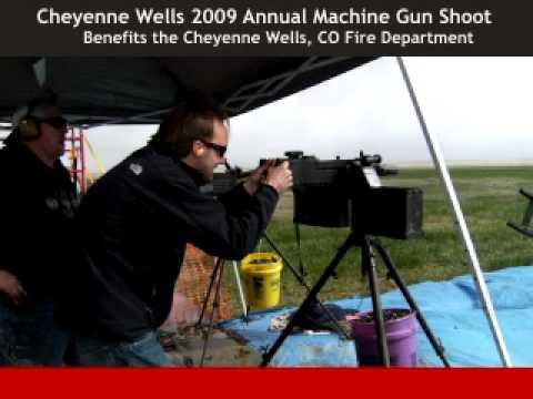 cheyenne machine gun shoot