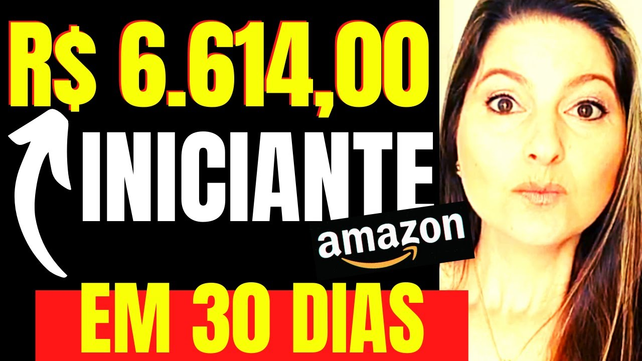 COMO FATUREI R$ 6.614,00 COMO INICIANTE NA AMAZON BRASIL (TRABALHANDO EM CASA) Juliana Zammar