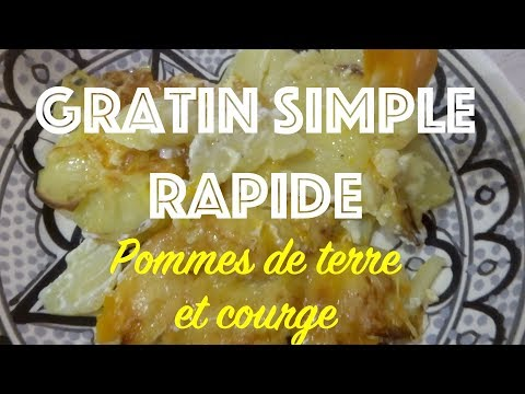 recette-d'hiver---gratin-super-rapide-et-facile-!!!-pommes-de-terre-et-courge-😋
