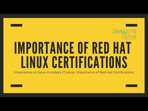 Why Red Hat Linux Training and Certifications are Important