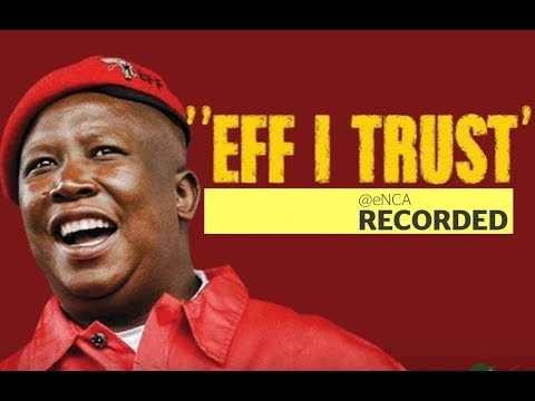 EFF leader Julius Malema to brief media on metros