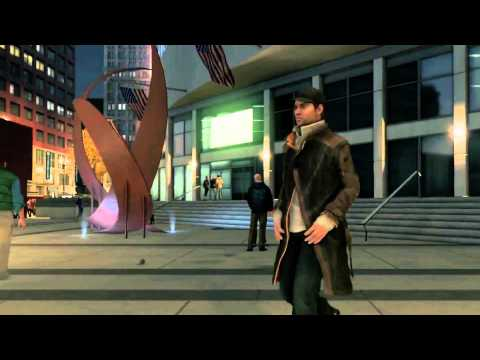 Watch Dogs - 'Aisha Tyler gets hit by bus' Trailer