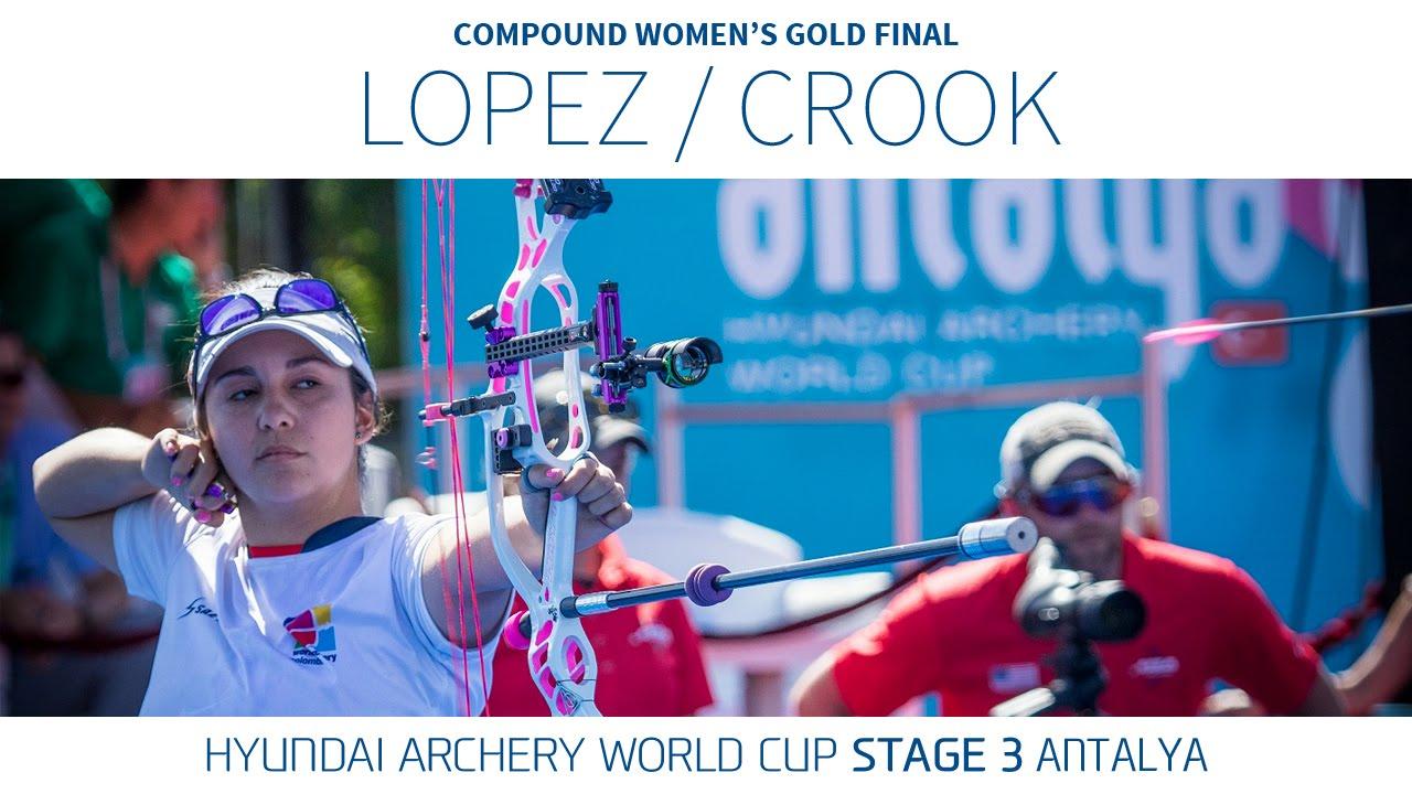 Dahlia Crook v Sara Lopez – Compound Women's Gold Final | Antalya 2016