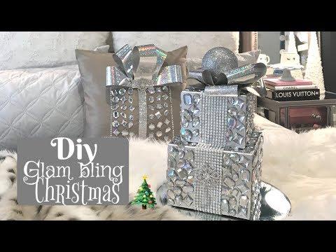 DIY BLING SPARKLY GLAM CHRISTMAS DECOR